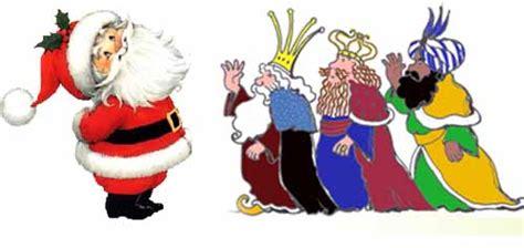 Imagenes Reyes Magos Y Papa Noel | entre pap 225 noel y los reyes magos el dilema del a 241 o