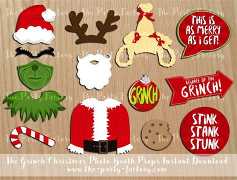 grinch christmas party props best 25 grinch ideas on grinch decorations whoville