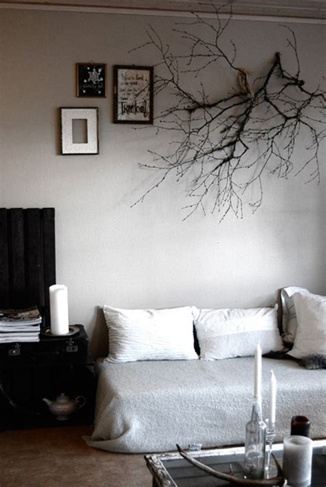 Tree Branch Decorations In The Home by Branch As Wall Decoration The Style Files