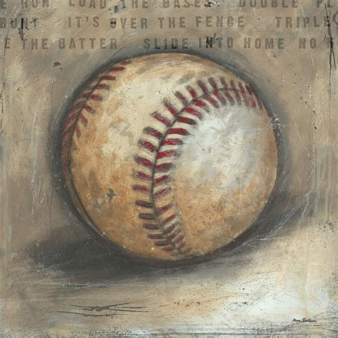 Baseball Wall Decor by Be The Baseball Canvas Wall By Aaron Christensen