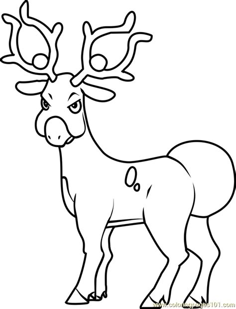 pokemon coloring pages deer 93 pokemon coloring pages deer coloring pages draw