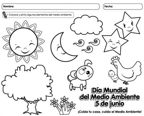 imagenes para colorear medio ambiente 5 de junio d 237 a mundial del medio ambiente para colorear