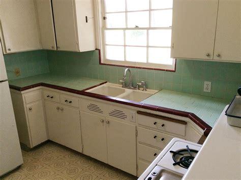 Create a 1940s style kitchen pam s design tips formula 1 retro renovation