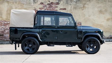 kahn land rover defender double cab land rover defender double cab pick up modified by kahn