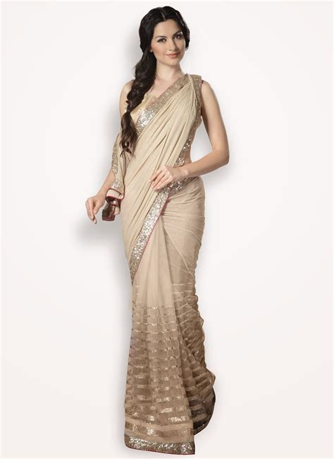 World fashion: Sparkling Party Wear Sarees 2015