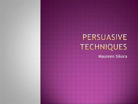How To Write A Persuasive Speech Powerpoint Speaking To Persuade Persuasive Powerpoint Template