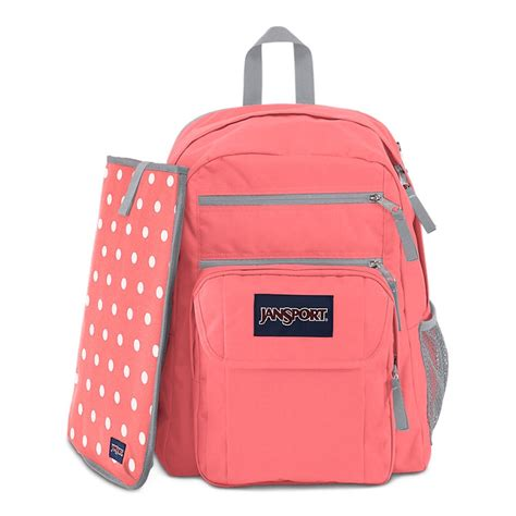 Digital Student Jansport jansport digital student backpack coral sparkle white