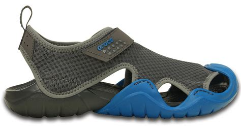 most comfortable water shoes comfortable men s swiftwater sandal by crocs