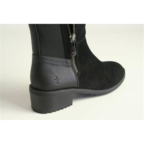 emu australia emu tennant boot in black waterproof