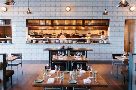 Restaurant Kitchen Interior Design by Downtown Atlanta Restaurant Best Seafood The Optimist
