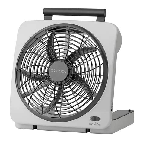 battery operated fan o2 cool 10 quot indoor outdoor battery operated fan o2 cool