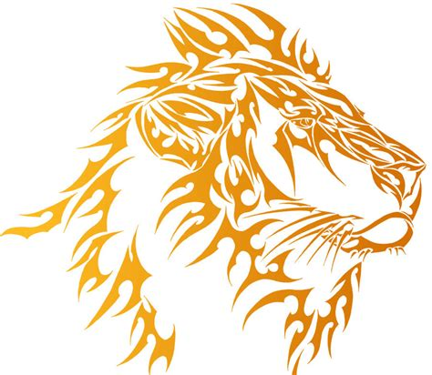 tribal lion tattoo designs images designs