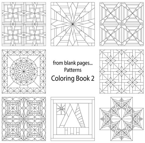 pattern coloring book books free coloring pages