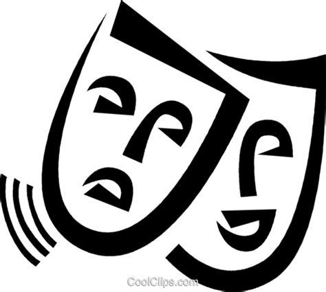 clipart teatro 233 dia e teatro m 225 scaras livre de direitos vetores clip