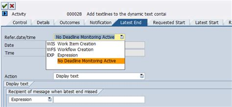 sap workflow deadline monitoring sap customer engagement deadlinemonitoring in sap workflow