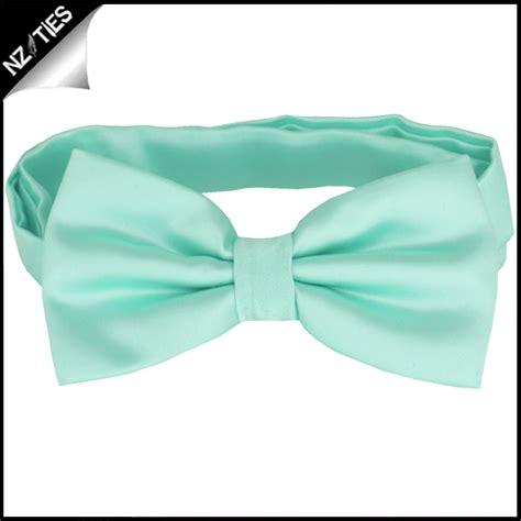 mint green plain bow tie nz ties