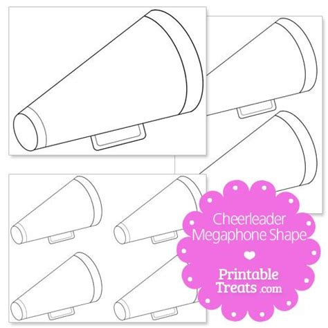 How To Make A Paper Megaphone - 25 unique cheer megaphone ideas on