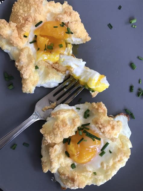 egg clouds how to make fluffy egg clouds my healthy dish