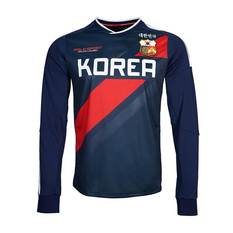 Dress Jersey Korea ralph korea sleeved t shirt in blue for lyst