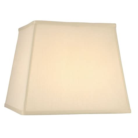 square lshade cream silk square l shade with spider assembly jj dcl