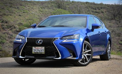 lexus gs350 f sport 2016 lexus gs350 f sport test review car and driver