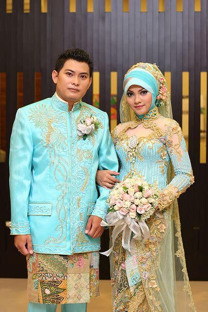 Baju Kebaya Untuk Nikah Muslim baju pengantin muslim dan model kebaya pengantin modern terbaru terkini 2016