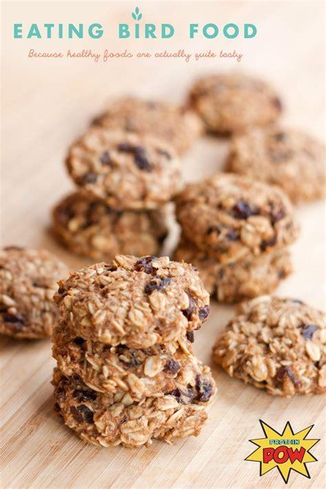 oatmeal raisin protein cookies protein pow