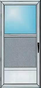 Self Storing Door by Weather King Windows Doors Inc Aluminum Doors
