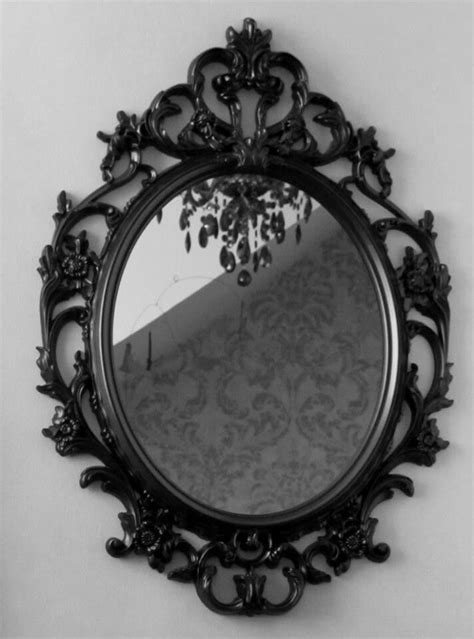 cool mirrors cool gothic mirror bedroom idea pinterest round