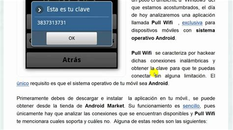 pull wifi apk pull wifi obten claves wifi en android