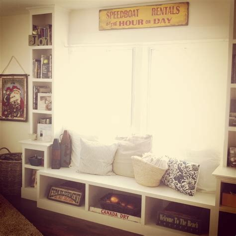 Window Side Bench Window Bench With Side Shelves Closet Alternatives