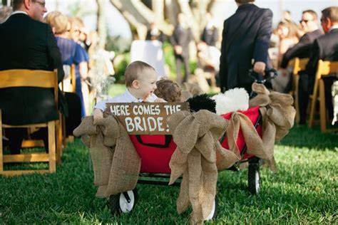 Team Wedding Blog How to Decorate a Red Wagon for a Wedding