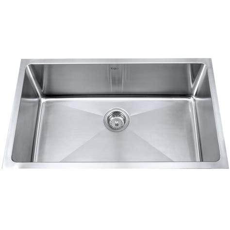 Kraus 32 Inch Undermount Sink by Kraus Khu100 32 32 Inch Undermount Single Bowl 16