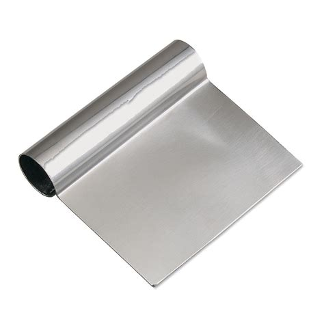 Scrapper Stainless browne halco 181ss dough scraper stainless steel 4 1 2 x 5 in