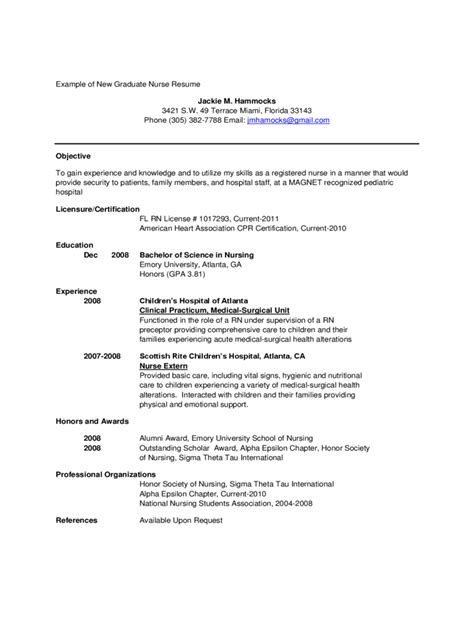 Labor And Delivery Resume Templates 100 Labor And Delivery Resume Exles 18