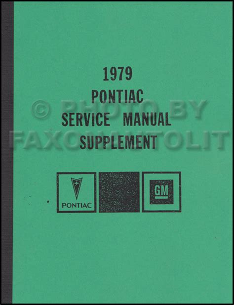 how to download repair manuals 1979 pontiac grand prix security system 1979 pontiac shop manual trans am firebird bonneville grand prix am lemans ebay