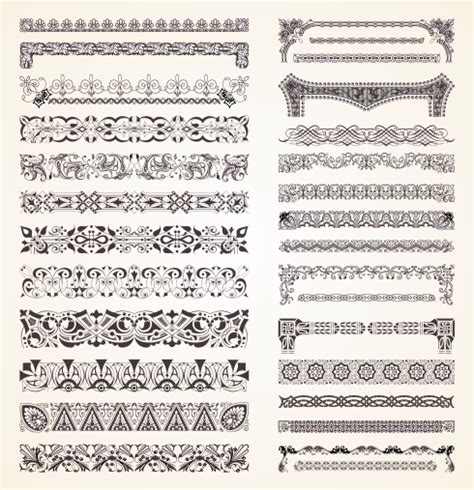 bandana pattern coreldraw free download design border elements format coreldraw