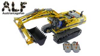 Lego Technics Lego Technic 8043 Motorized Excavator Lego Speed Build