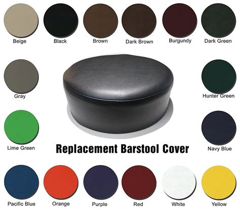 replacement bar stool covers dark brown vinyl bar stool cover replacement
