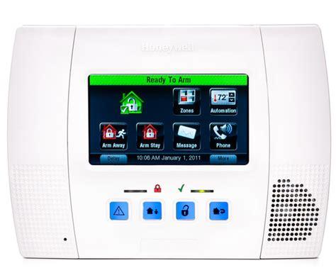 Panel Alarm Honeywell L5100 Lynx Touch Wireless Alarm Panel