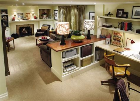 Living Room Office Combo Decorating Ideas Basement This Is Awesome Quilting Studio Upgrade Ideas