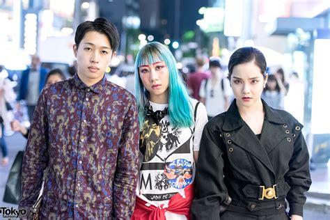 Tshirt Black Eximinvl Dvmvge 1 harajuku trio in fashion by dvmvge garter phenomenon