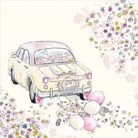 Just Married Auto Blikjes by 20er Pack Servietten Just Married 33 X 33 Cm Tafeldeko