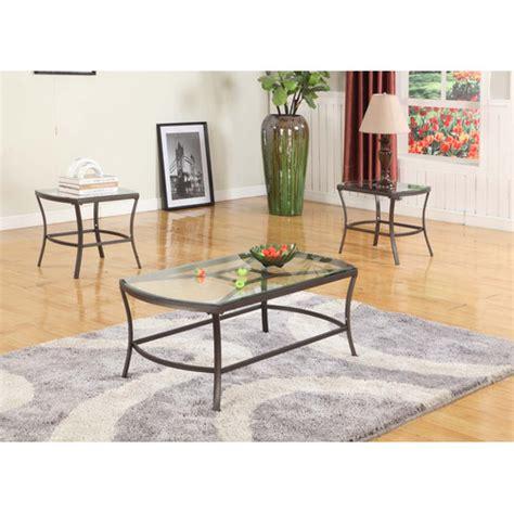 in room designs inroom designs coffee table set walmart com