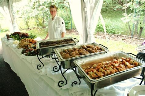 how to keep food on a buffet table decorative use of chafing dishes on a buffet table set up