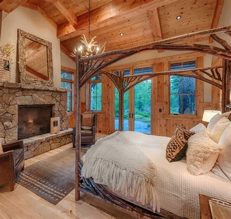 cabin bedrooms best 25 cabin bedrooms ideas on