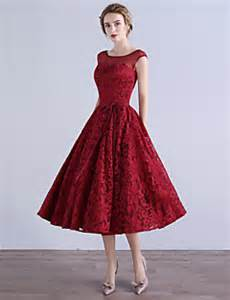 Chiffon Draping Tea Length Special Occasion Dresses Search Lightinthebox