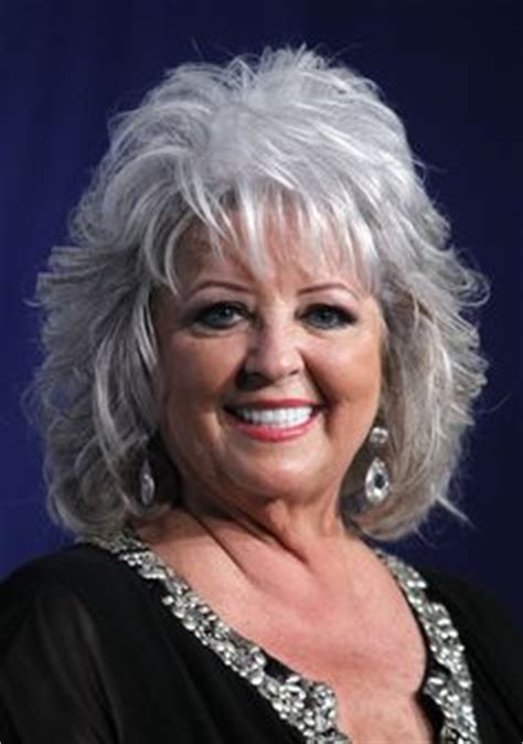 is paula deens hairstyle for thin hair greying hair can be a badge of honor of sorts but maybe