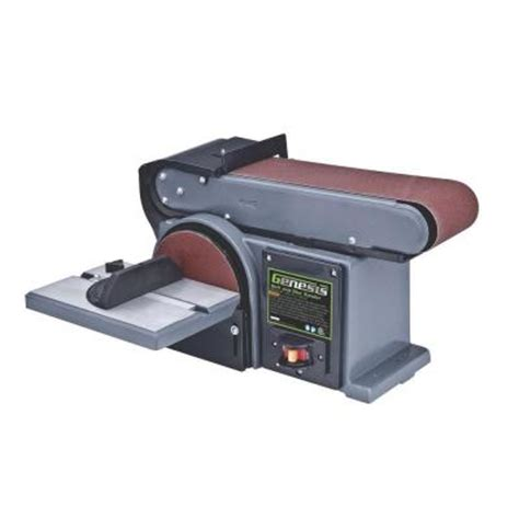 genesis 4 5 belt and disc sander gbds450 the home depot