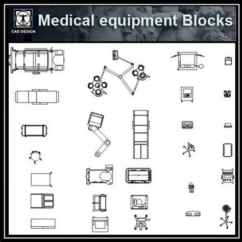 hospital laundry layout plan cad dwg free medical equipment blocks cad design free cad